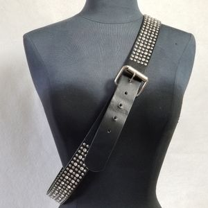 Torrid Rhinestone Studded Plus Size Belt Size 2X